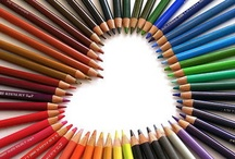 Write On / Art with Pencils, Crayons or Chalk / by Jan White