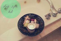 Homemade beauty/spa Gifts / by Diana Barkmann