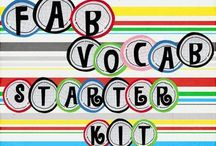 vocabulary / by Charlene Bates Aparicio