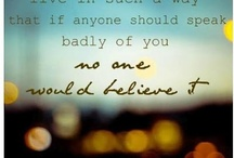 Beautiful words / by Bonnie