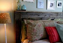 Headboard ideas / by Amanda Colvin