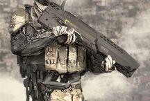 cyborg/Armor / by Boomslank