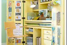 Craft/Sewing Spaces / by Brandi Kobayashi