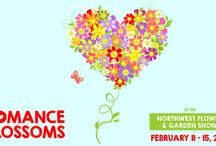 "NWFGS 2015 | Romance Blossoms / The 2015 Northwest Flower & Garden Show on February 11-15th will be themed ""Romance Blossoms."" We are posting romantic gardens and behind the scene photos from the upcoming Show! / by Northwest Flower & Garden Show"