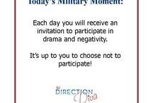 Military Moment s / by Judy Davis ~ The Direction Diva