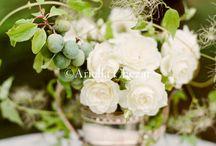 garden party floral arrangements / by Cathy Walackas Estey