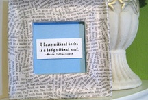 book page crafts / by Jeanne Slauter