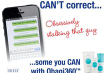 Mistakes You Can't Correct Contest / Share your mistake you can't correct for daily chances to win an Obagi360 System at http://obagi.com/win360. / by Obagi Medical Products