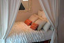 Bedrooms / by Megan Mensch