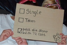 Plan B: Crazy Cat Lady / for when the Plan A: Wedding board falls through... and it will... / by Courtney Sheble