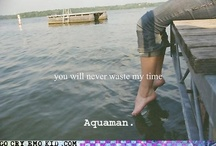 Aquaman / by Jimbob Fizzlepickle