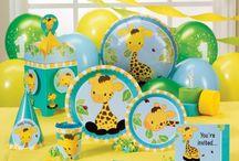 1st Birthday Luau Ideas / by Kimberly Choi