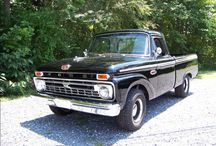 Vintage Ford Pickup Trucks / by GMC Sierra