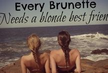 For my insane, selfless, beautiful best friend: Nicole ♥ / by Abby Miller