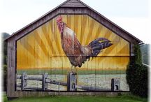 barn art / by Lyons Roofing