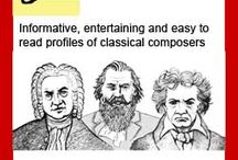 Music: Composers / by Mindy Rubin