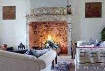 Design - Fireplaces / by Meg B. Frank Interiors