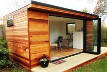 Shed / workshop / playhouse ideas / by John Braine