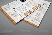 Design : Resume / by Christophe Camus
