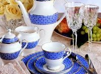 Dinnerware, silverware and serving pieces I love / by Maureen Chapman