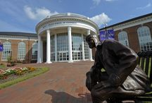Statues at High Point University / High Point University NC | Best Colleges in the South / by High Point University