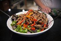 salads / by Rebecca MacKeigan