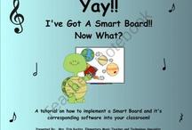 Smartboard for Music / by Rachel Hammon