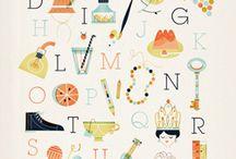 Alphabets Letters Text / by Diane Harris