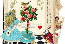 """Go ask Alice! / """"Curiouser and curiouser!"""" / by Painting the Roses Red"""