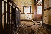 derelict places and buildings / by Lori Stollenwerk