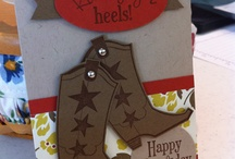 Cards - Boots, Shoes / by Margaret Raburn