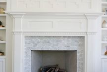 a - fireplace/mouldings / by Ashley Coats