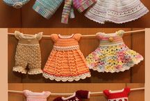 Vestidos muñecas / by Adriana Motta Salas