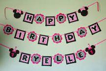 birthday ideas  / by Chantel Pulley