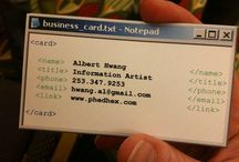 Innovative Business Cards / by Sue Beckingham
