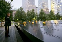 13th Anniversary at the 9/11 Memorial / The 9/11 Memorial held its annual commemoration ceremony, which included the reading of the names of the victims, on Sept. 11, 2014.  / by 9/11 Memorial