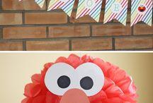 Sesame Street party / by Kate Scherr