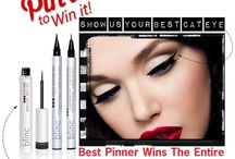 Pin Your Best Cat Eye! / Pin Your Best Cat Eye and you will be entered to win a FREE blinc Ultrathin Eyeliner! / by blinc