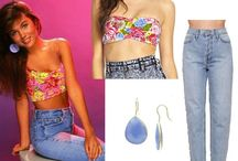 """'90s style: Dress like """"Saved by the Bell"""" bombshell Kelly Kapowski / Every female millennial has wanted to be Kelly Kapowski at some point in her life-- and now, 25 years later, it's actually easier than ever. Here are eight ways to recreate Kelly's style using on-trend pieces that are in stores today... Zack Morris look-alike boyfriend unfortunately not included.  / by amNewYork"""