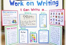 school writing / by Dorrie Reyes
