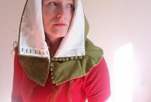 Hoods and headgear / by Heidi Elving