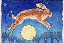 *Ostara / Ostara is the Pagan Spring Equinox feast. It gave name to the Christian Easter.  / by Ketutar J.