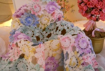Vintage Crochet Doilies / by Linda Christie