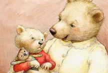 teddy bear illustrations / by Martine Van Hecke