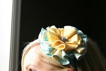 Fabric Flowers / by Bobbi Dunn Cantrell