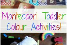 Montessori toddler activities / by Karen Rushton