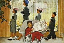 Norman Rockwell / by Kathleen Randall