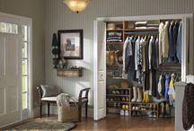 Front Hall Closet / by Sandra Villeneuve