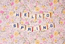 hello spring / by Pretty in my Pocket