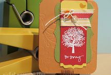 things to CASE / cards I love / by Lori-Anne Woodbury